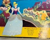 Vintage Walt Disney s Cinderella RCA Victor Little Nipper Storybook Album 45 RPM