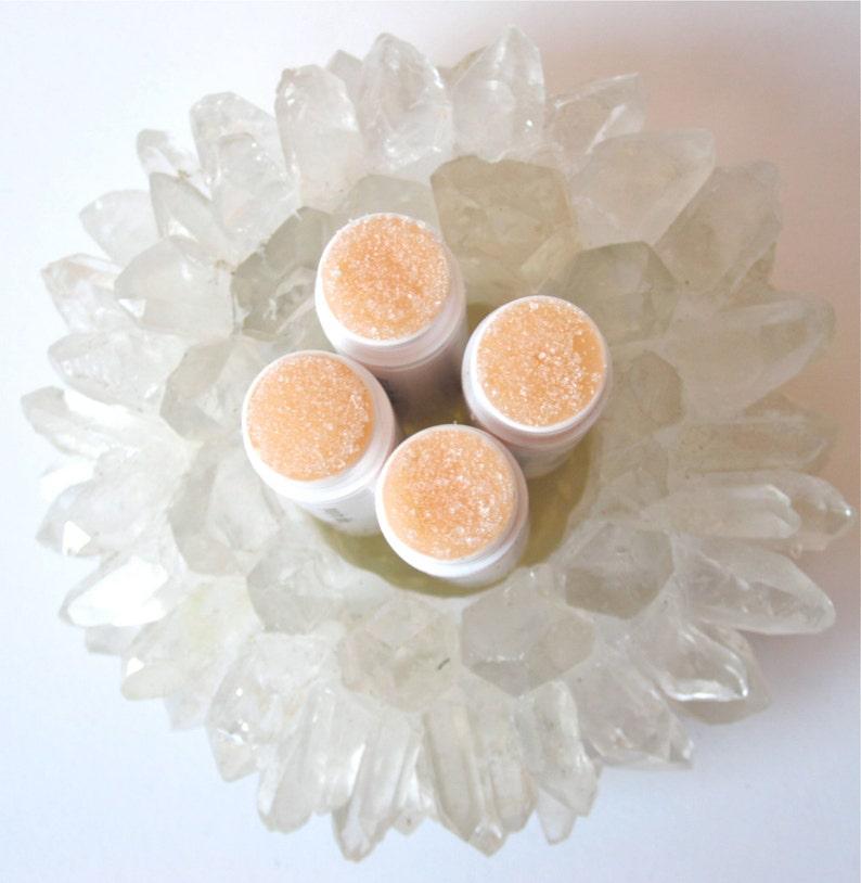 Sugar Scrub for Lips  Natural Lip Scrub  Lip Polish  Rose image 0