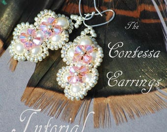 Tutorial - The Contessa Earrings