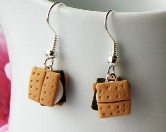Smore Dangle Earrings