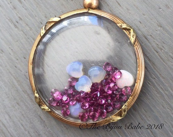 Shake It Locket Antique French Locket