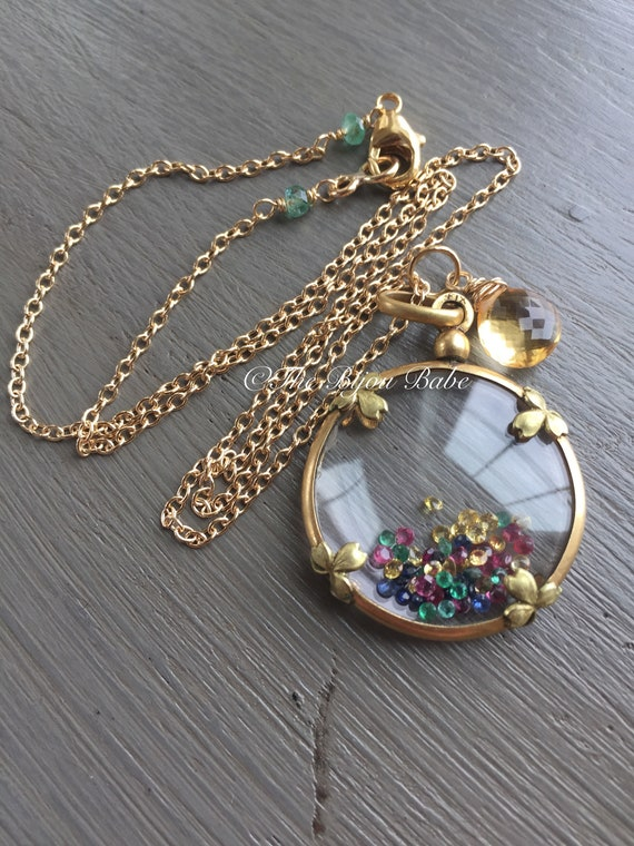Shake It Locket Shamrock Locket Shaker Locket