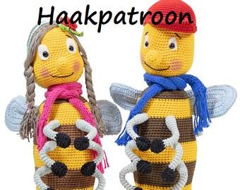 """NL Haakpatroon PDF """"Zzzoemzoem"""""""