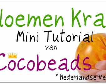NL Bloemen Kraal Mini Tutorial PDF