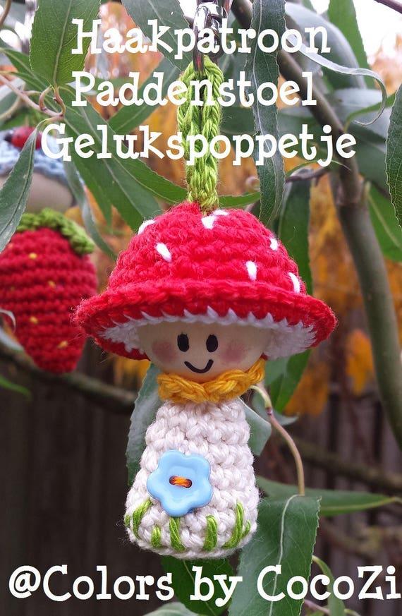 Pdf Combi 3 Haakpatronen Aardbei Cactus Paddenstoel Etsy