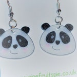 Adorable Kawaii Panda Earrings