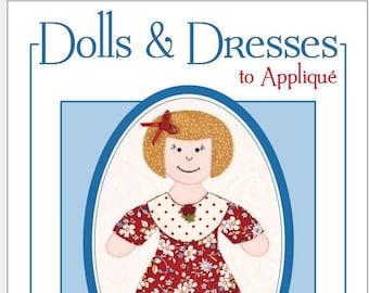 Doll Quilt Pattern, Dolls & Dresses to Appliqué book