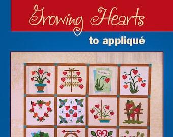 Heart Appliqué Book, Heart Quilt Patterns