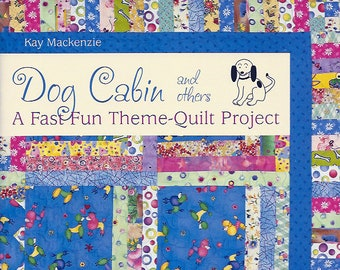 Theme Quilt book, Log Cabin style quilt pattern