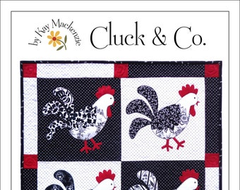 Cluck & Co. Wall Quilt Pattern
