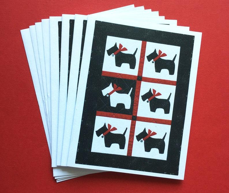 Scotty Dog Notecards