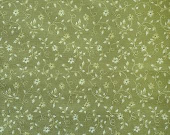 Soft Olive Fabric 3/8 Yard