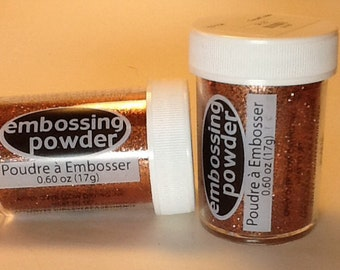 Opaque Tinsel Copper Embossing Powder .60 oz