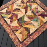 Price Redced - Fall Batil Table Topper or  Little Quilt - Sale