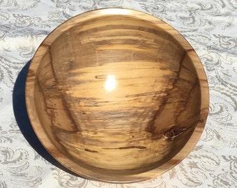 Black Gum Wood Bowl