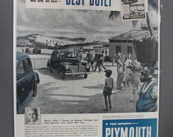 Ply #135  Plymouth  October  1945