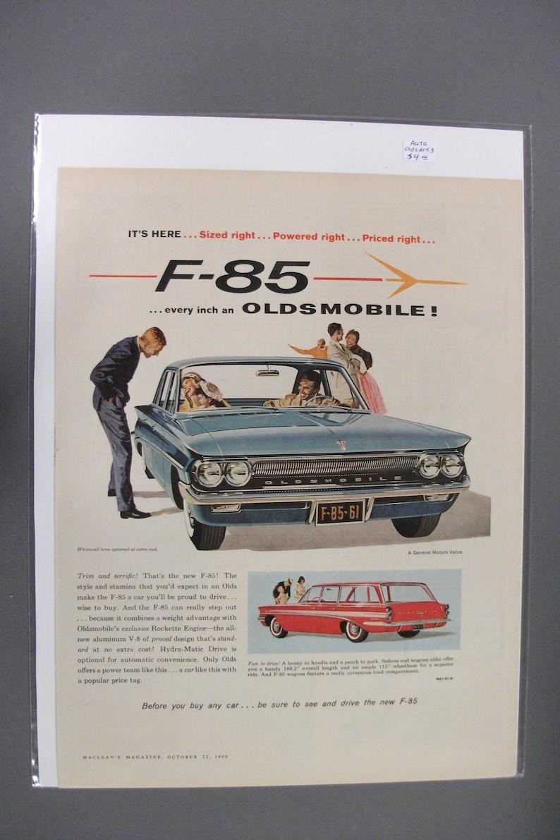 Olds #153 Oldsmobile October 1960