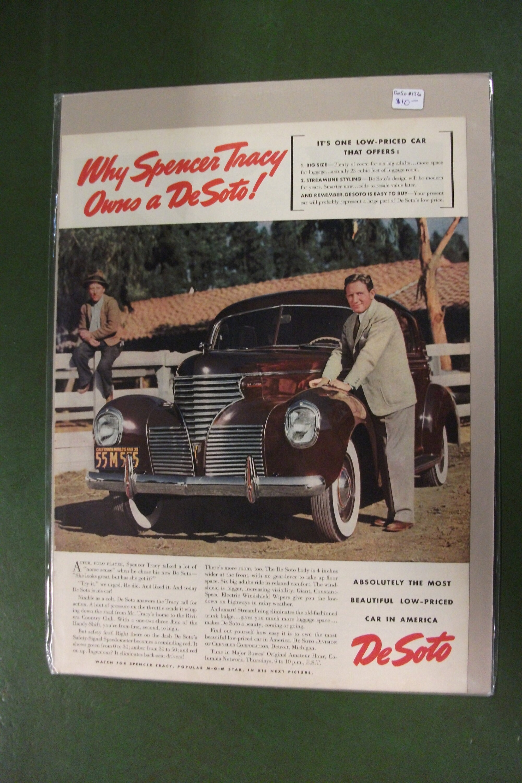 April  1941 Deso  #118   De Soto   Magazine Ad