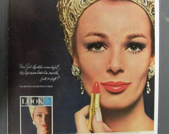 126  Cover Girl Lipstick   Ad From  June 5 1964 Life