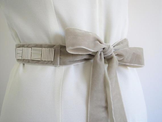 Braut Hochzeit Brautjungfer Kleid weiche Schärpe Perlen Perlenband Gürtel