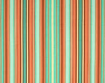 Cotton Quilting Fabric | Amy Butler fabric | Belle Oxford Stripe Blue
