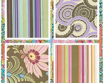 Amy Butler Ginger Bliss fabric Half Yard set
