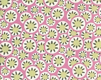 Cotton Quilting Fabric   Amy Butler fabric   Daisy Chain Rose Kaleidoscope dots