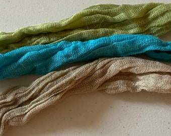 Cheesecloth, Hand Dyed Cheesecloth