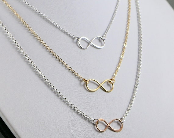 Love is Infinite Necklace - Gold-fill | Sterling Silver | Rose Gold