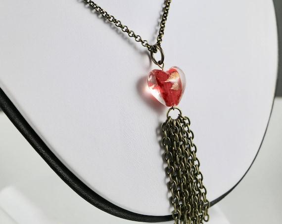Love Tassel Necklace