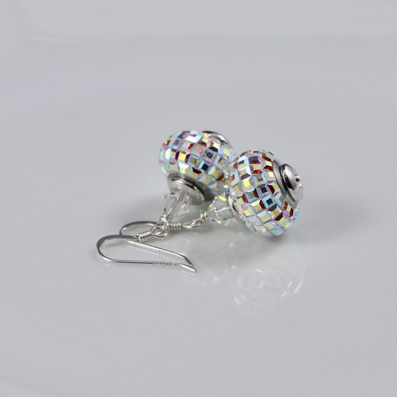 BeCharmed - Crystal Aurora Earrings (Swarovski Crystal & Sterling Silver)