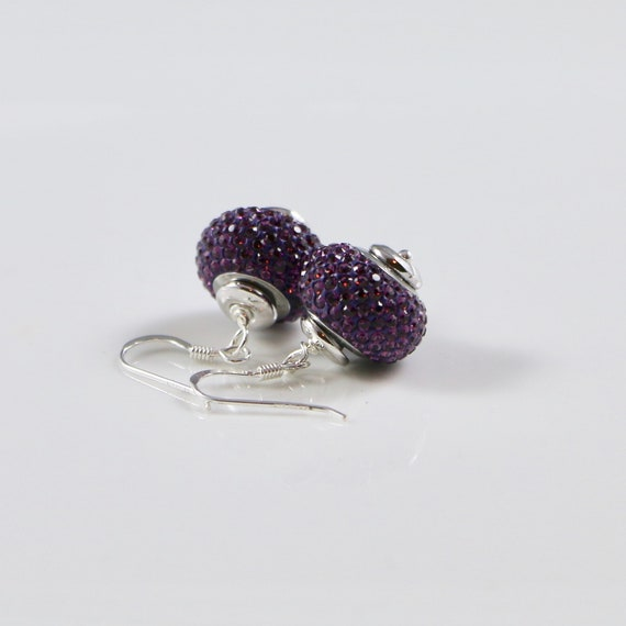 BeCharmed - Amethyst Earrings