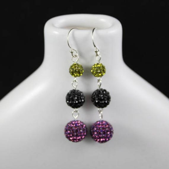 Strut Your Stuff Earrings - Swarovski Crystal & Sterling Silver