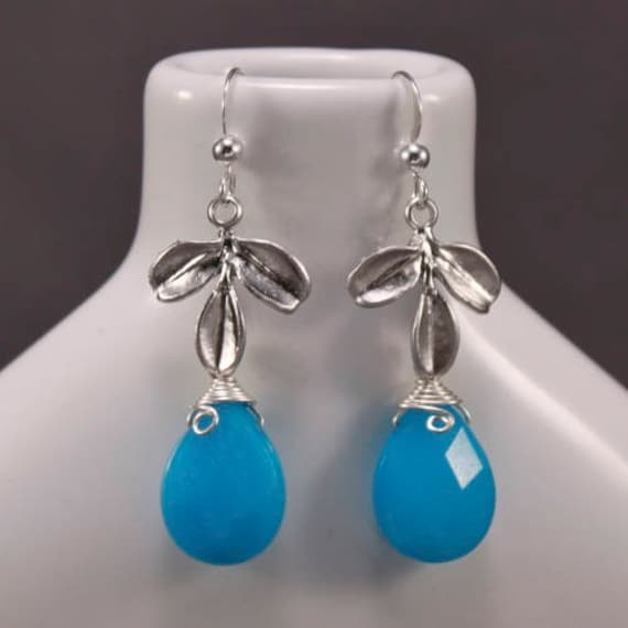 Touch of Teal Earrings