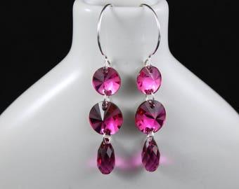 Currant Affair Earrings (E937)