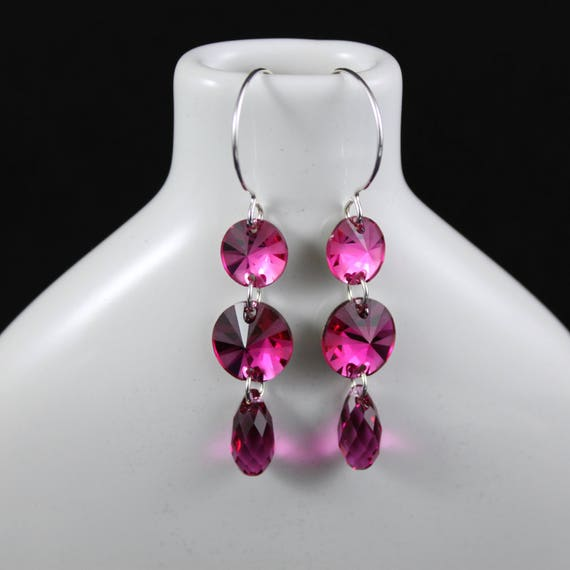 Currant Affair Earrings (E937)