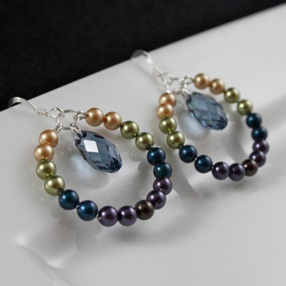 Pearls of Passion - Swarovski Crystal Pearls, Crystals, and Sterling Silver
