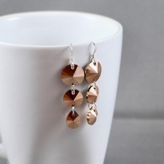 Coppertones Earrings