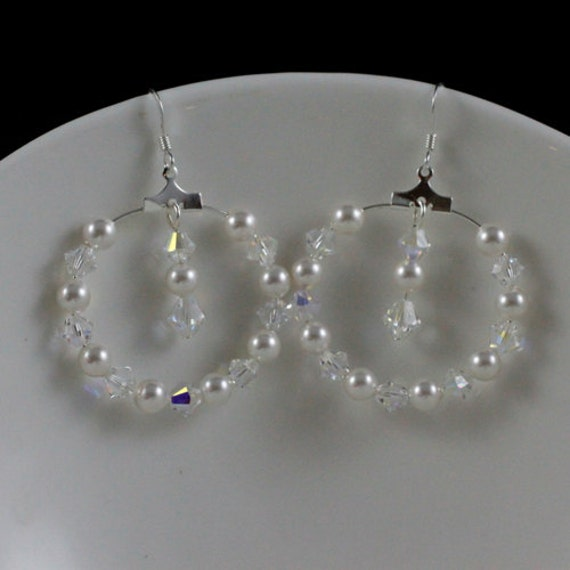 First Love - Swarovski Crystal & Pearl and Sterling Silver