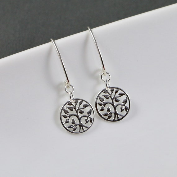 Tree of Life Earrings - Bronze | Sterling Silver | Nature