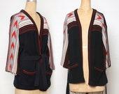 Vintage Knit Sweater Southwest Boho