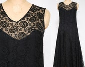 1920s Lace Flapper Dress