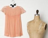 Antique Child's Silk Dress