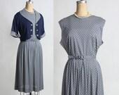 Blue Gingham 2pc Dress Jacket