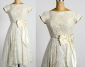 White Lace Gown. Formal Dress