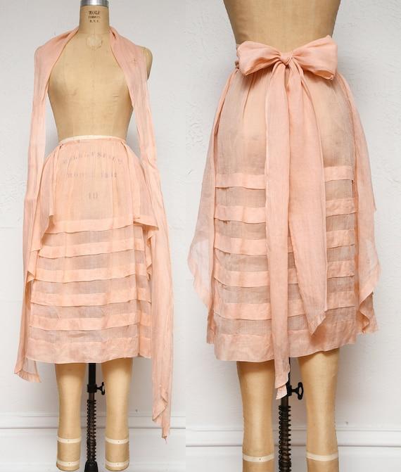 Antique Pink Skirt & Sash