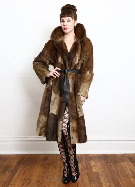 1970s MINK Fur Coat