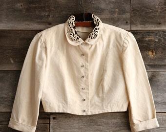 Cropped Jacket Blazer