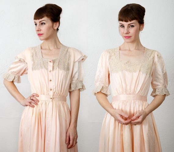 Satin 2Piece Night Gown Robe