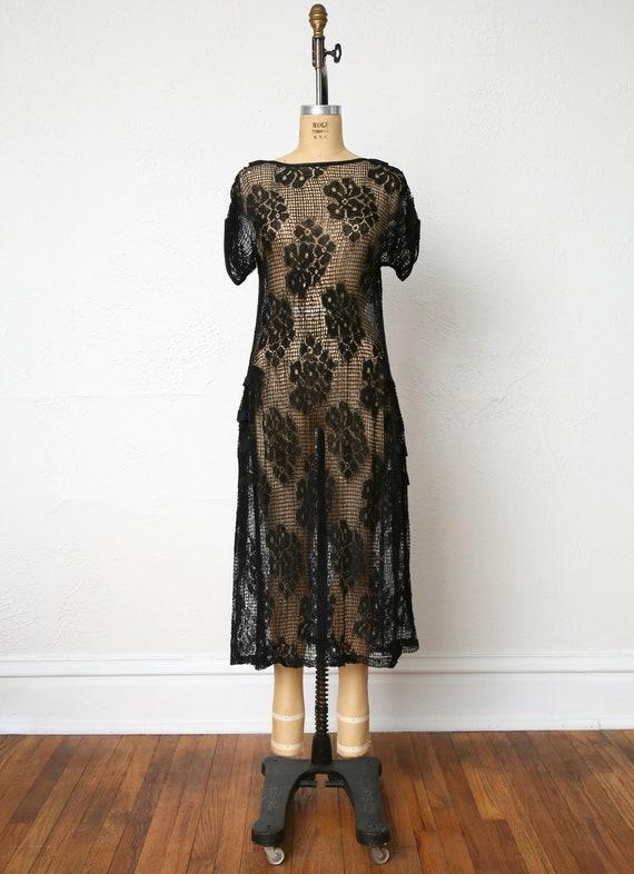 1920s Sheer Lace dress - image 2